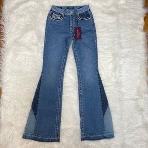 """VIGOSS JEANS CHELSEA FLARE JEANS SIZE 26 """"NWT"""""""